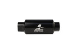 Aeromotive #12321 Fuel System Filter, In-Line AN-10 Size, Black, 10 Micron