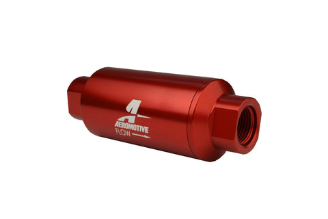 Aeromotive #12335 Fuel System Filter In-Line AN-10 size, 40 micron stainless steel elem