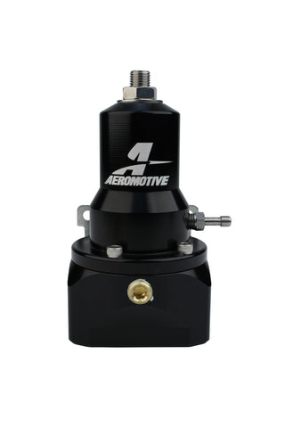 Aeromotive #13132 Fuel System Regulator, 30-120 psi, .500 Valve, 2x AN-10 inlets, AN-10