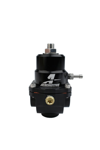 Aeromotive #13305 Fuel System Regulator, Adjustable, 35-75psi, .313 Valve, (2)-08inlets