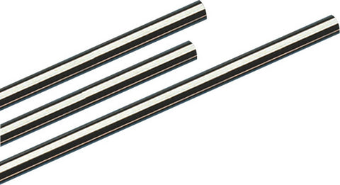 Borla 2.5in Stainless Steel Straight Tubing - 5ft