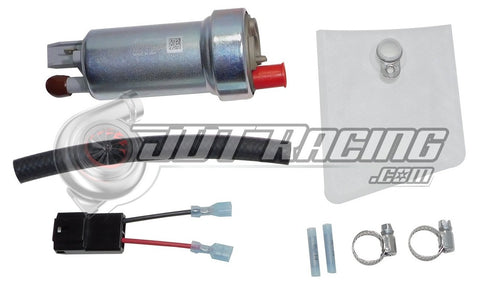 Walbro F90000262 400lph Racing Fuel Pump with 400-1136 Installation Kit *Gasoline Only*