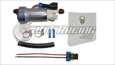Walbro F90000274 450lph Fuel Pump & 400-0085 Installation Kit E85 Compatible Honda Civic/CRX 1988-1991