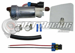 Walbro F90000274 450lph Fuel Pump & 400-0085 Installation Kit E85 Compatible Mitsubishi Lancer EVO