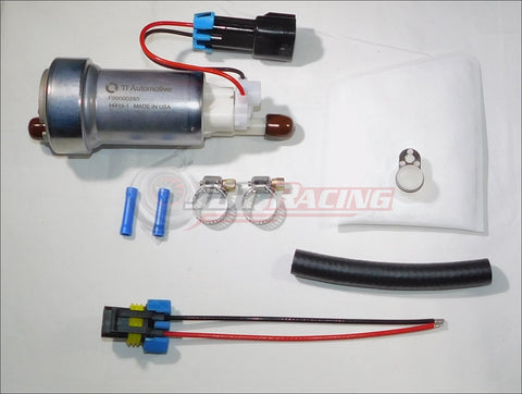 Walbro E85 525lph F90000285 Hellcat Fuel Pump & Install Kit Civic CRX 1988-1991