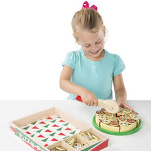 Load image into Gallery viewer, Pizza Party-Wooden Play Food