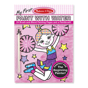 My First Paint with Water Cheerleader-Pink