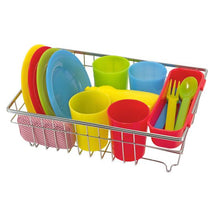 Load image into Gallery viewer, Lets Play House! Wash & Dry dish set