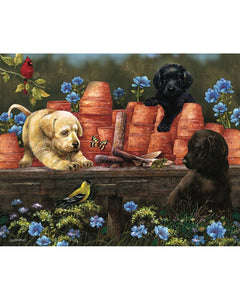 Puppies at Play Puzzle