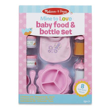 Load image into Gallery viewer, Baby Food & Bottle Set
