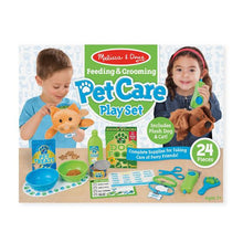 Load image into Gallery viewer, Feeding & Grooming Pet Care Play Set
