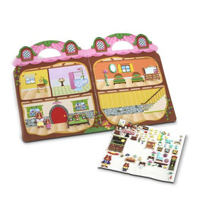 Puffy Stickers Chipmunk House
