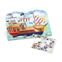 Load image into Gallery viewer, Puffy Sticker Play Set - Pirate