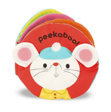 Load image into Gallery viewer, Peekaboo Soft Activity Book