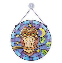 Load image into Gallery viewer, Stain Glass Owl