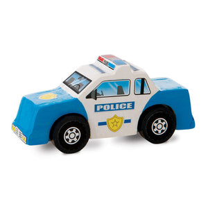 Rescue Vehicles Wooden Craft Kit