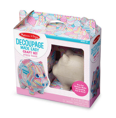 Decoupage Made Easy Piggy Bank
