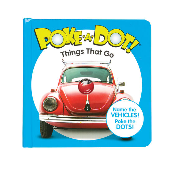 Poke-A-Dot Things that Go Book
