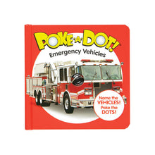 Load image into Gallery viewer, Poke-A-Dot Emergency Vehicles