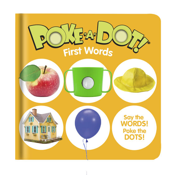 Poke-A-Dot First Word Book