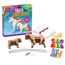 Load image into Gallery viewer, Craft-tastic Yarn Unicorns Kit