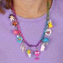 Load image into Gallery viewer, Charm It Rainbow Chain Necklace