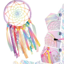 Load image into Gallery viewer, Grow Your Own Crystal Dreamcatcher