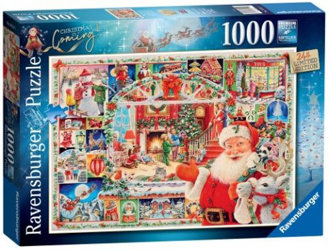 Christmas is Coming 1,500 Pc Puzzle