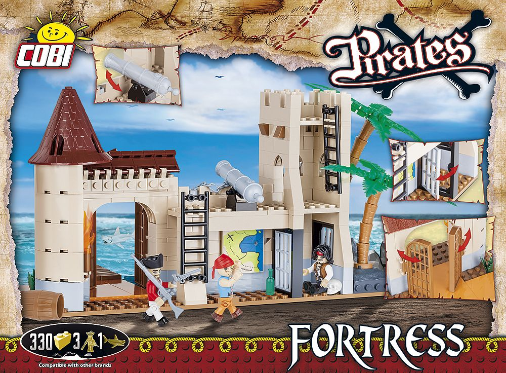 COBI Pirates Fortress