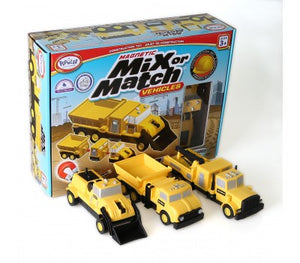 Mix & Match Construction Vehicles