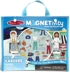 Magnetivity Dress and Play Careers