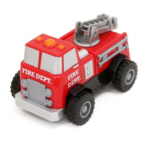 Build A Truck Fire Rescue