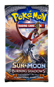 Pokemon Burning Shadows Pack