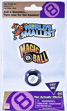 Worlds Smallest Magic 8 Ball