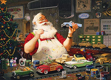 Santa Painting Cars 1000 pc