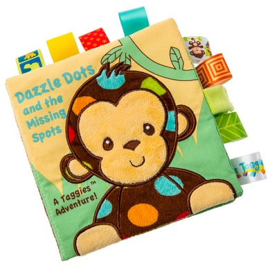 Taggies Dazzle Dots Monkey Soft Book