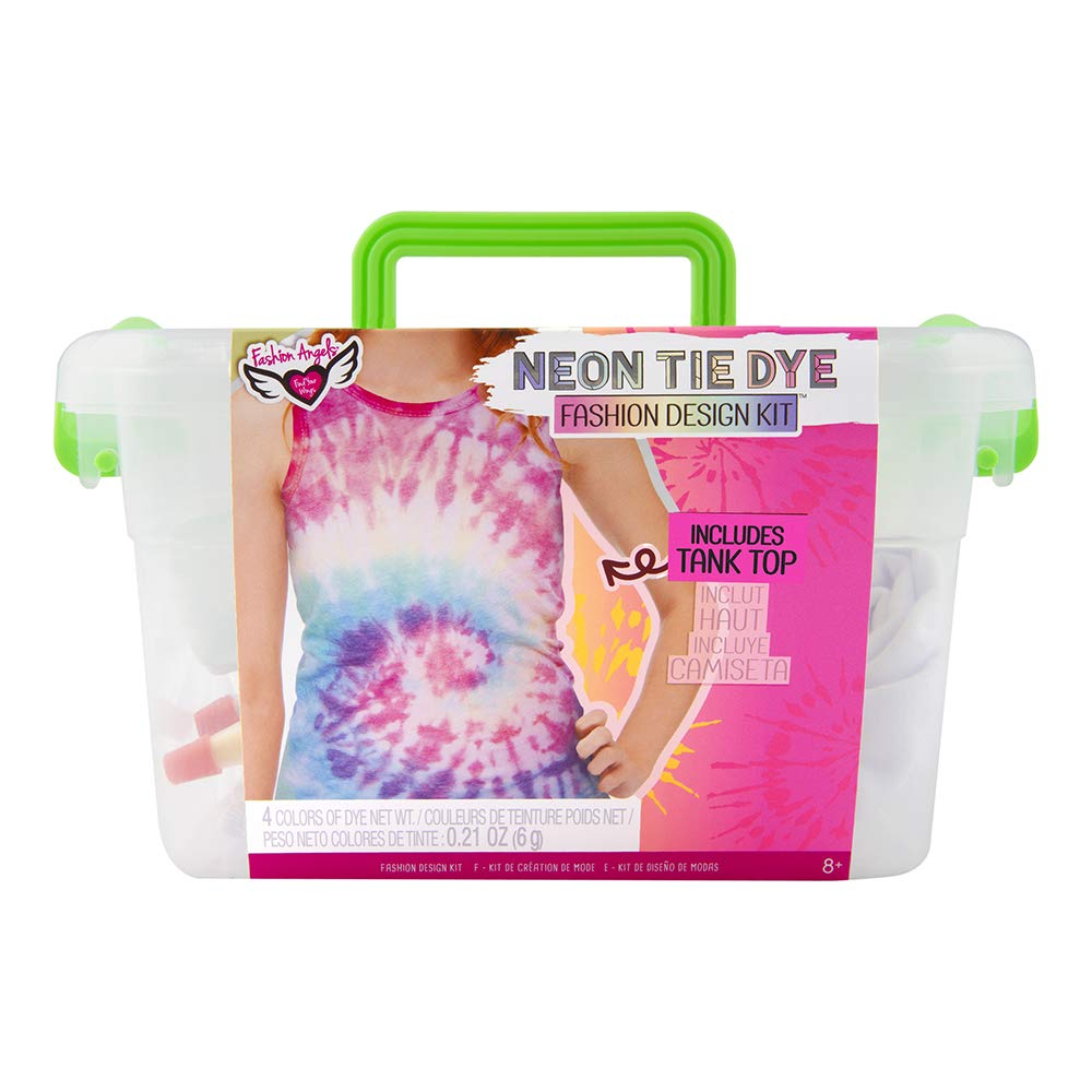 Neon Tie Dye Tank Top Design Keeper Crate