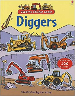 First Sticker Book Diggers Book