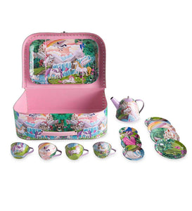 Fantasy Land Tin Tea Set