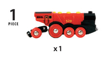 Load image into Gallery viewer, BRIO MIGHTY RED ACTION LOCOMOTIVE