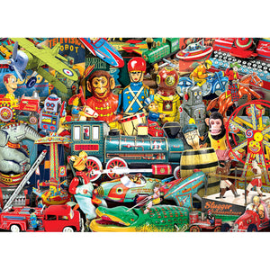 Flashbacks Toyland 1000pc Puzzle