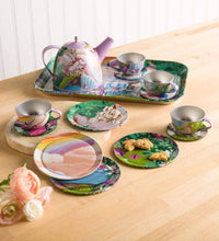 Load image into Gallery viewer, Fantasy Land Tin Tea Set