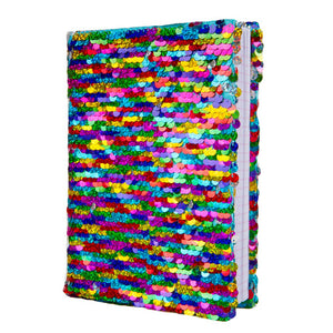 Magic Sequin Journal Rainbow
