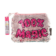Load image into Gallery viewer, Magic Sequin Reveal Pouch w/lip balm Unicorn