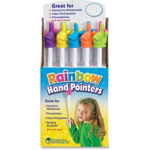 Rainbow Hand Pointer
