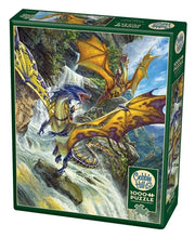 Load image into Gallery viewer, Waterfall Dragons 1000pc