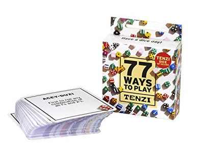 Carma Games 77 ways to Play Tenzi Expansion