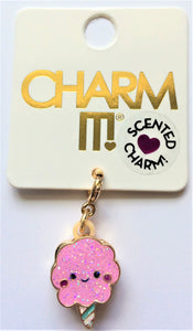 Gold Scented Cotton Candy Charm