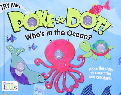 Who's In the Ocean Poke Book