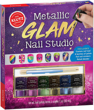Load image into Gallery viewer, Metallic Glam Nail Studio